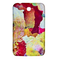 Art Detail Abstract Painting Wax Samsung Galaxy Tab 3 (7 ) P3200 Hardshell Case