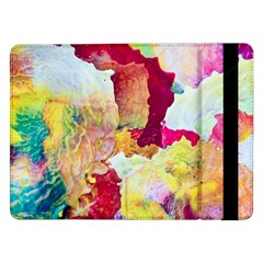 Art Detail Abstract Painting Wax Samsung Galaxy Tab Pro 12 2  Flip Case