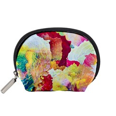 Art Detail Abstract Painting Wax Accessory Pouches (small)