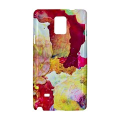 Art Detail Abstract Painting Wax Samsung Galaxy Note 4 Hardshell Case