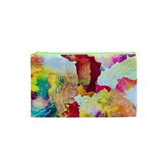 Art Detail Abstract Painting Wax Cosmetic Bag (xs)
