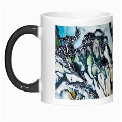 Abstract Structure Background Wax Morph Mugs