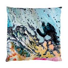 Abstract Structure Background Wax Standard Cushion Case (one Side)