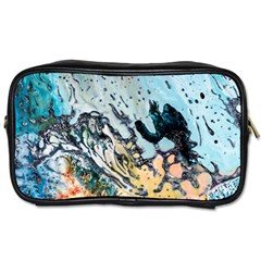 Abstract Structure Background Wax Toiletries Bags 2 Side