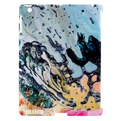 Abstract Structure Background Wax Apple Ipad 3/4 Hardshell Case (compatible With Smart Cover)