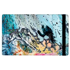 Abstract Structure Background Wax Apple Ipad 2 Flip Case