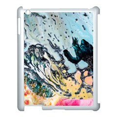 Abstract Structure Background Wax Apple Ipad 3/4 Case (white)