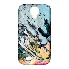Abstract Structure Background Wax Samsung Galaxy S4 Classic Hardshell Case (pc+silicone)
