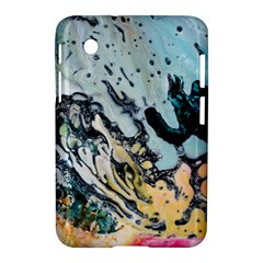 Abstract Structure Background Wax Samsung Galaxy Tab 2 (7 ) P3100 Hardshell Case