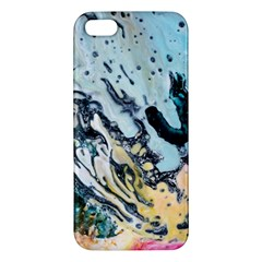 Abstract Structure Background Wax Iphone 5s/ Se Premium Hardshell Case