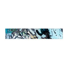 Abstract Structure Background Wax Flano Scarf (mini)