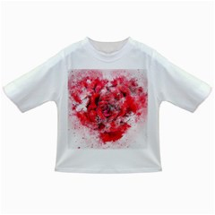 Flower Roses Heart Art Abstract Infant/toddler T Shirts