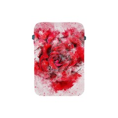 Flower Roses Heart Art Abstract Apple Ipad Mini Protective Soft Cases