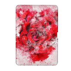 Flower Roses Heart Art Abstract Samsung Galaxy Tab 2 (10 1 ) P5100 Hardshell Case
