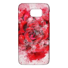 Flower Roses Heart Art Abstract Galaxy S6