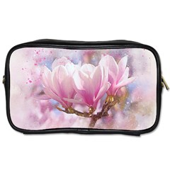 Flowers Magnolia Art Abstract Toiletries Bags