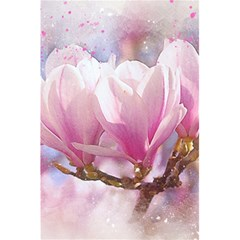 Flowers Magnolia Art Abstract 5 5  X 8 5  Notebooks