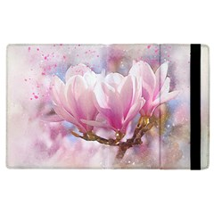 Flowers Magnolia Art Abstract Apple Ipad 3/4 Flip Case