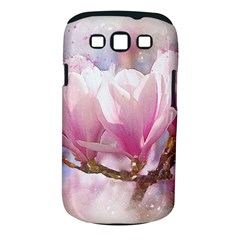 Flowers Magnolia Art Abstract Samsung Galaxy S Iii Classic Hardshell Case (pc+silicone)