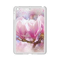 Flowers Magnolia Art Abstract Ipad Mini 2 Enamel Coated Cases