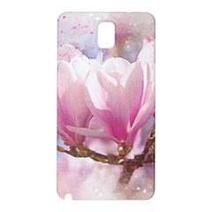 Flowers Magnolia Art Abstract Samsung Galaxy Note 3 N9005 Hardshell Back Case