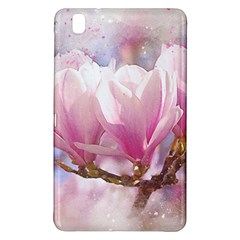 Flowers Magnolia Art Abstract Samsung Galaxy Tab Pro 8 4 Hardshell Case