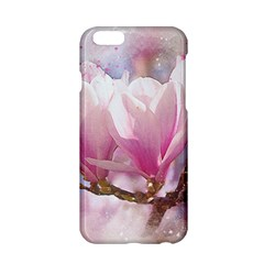 Flowers Magnolia Art Abstract Apple Iphone 6/6s Hardshell Case