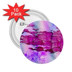 Background Crack Art Abstract 2 25  Buttons (10 Pack)