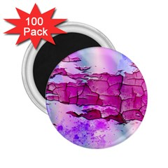 Background Crack Art Abstract 2 25  Magnets (100 Pack)