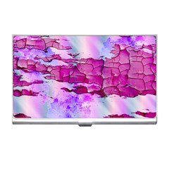 Background Crack Art Abstract Business Card Holders
