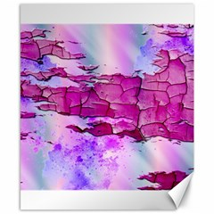 Background Crack Art Abstract Canvas 8  X 10