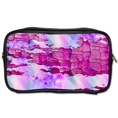 Background Crack Art Abstract Toiletries Bags