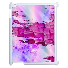 Background Crack Art Abstract Apple Ipad 2 Case (white)