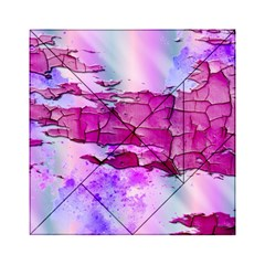 Background Crack Art Abstract Acrylic Tangram Puzzle (6  X 6 )