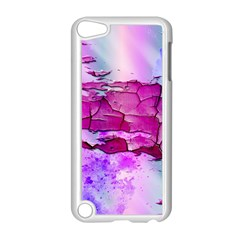 Background Crack Art Abstract Apple Ipod Touch 5 Case (white)