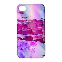 Background Crack Art Abstract Apple Iphone 4/4s Hardshell Case With Stand