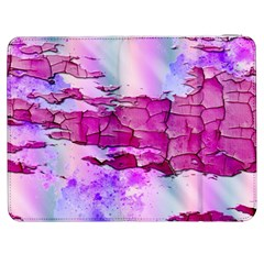 Background Crack Art Abstract Samsung Galaxy Tab 7  P1000 Flip Case