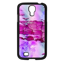 Background Crack Art Abstract Samsung Galaxy S4 I9500/ I9505 Case (black)