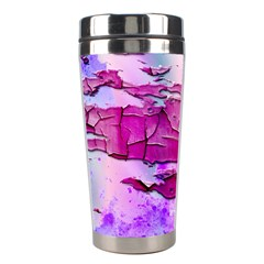 Background Crack Art Abstract Stainless Steel Travel Tumblers