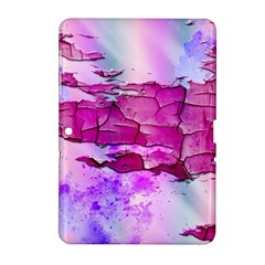 Background Crack Art Abstract Samsung Galaxy Tab 2 (10 1 ) P5100 Hardshell Case