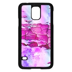 Background Crack Art Abstract Samsung Galaxy S5 Case (black)