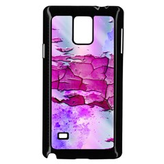 Background Crack Art Abstract Samsung Galaxy Note 4 Case (black)