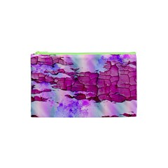 Background Crack Art Abstract Cosmetic Bag (xs)
