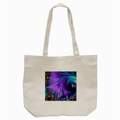 Abstract Fractal Fractal Structures Tote Bag (cream)