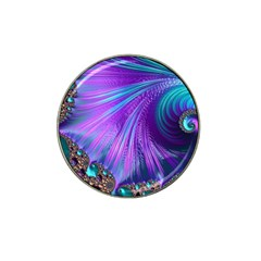 Abstract Fractal Fractal Structures Hat Clip Ball Marker