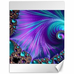 Abstract Fractal Fractal Structures Canvas 12  X 16