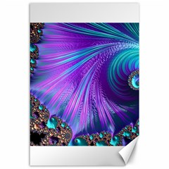 Abstract Fractal Fractal Structures Canvas 24  X 36