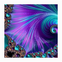 Abstract Fractal Fractal Structures Medium Glasses Cloth