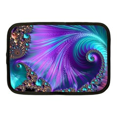 Abstract Fractal Fractal Structures Netbook Case (medium)
