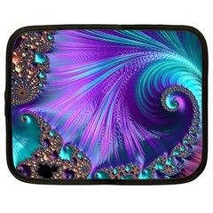 Abstract Fractal Fractal Structures Netbook Case (xl)